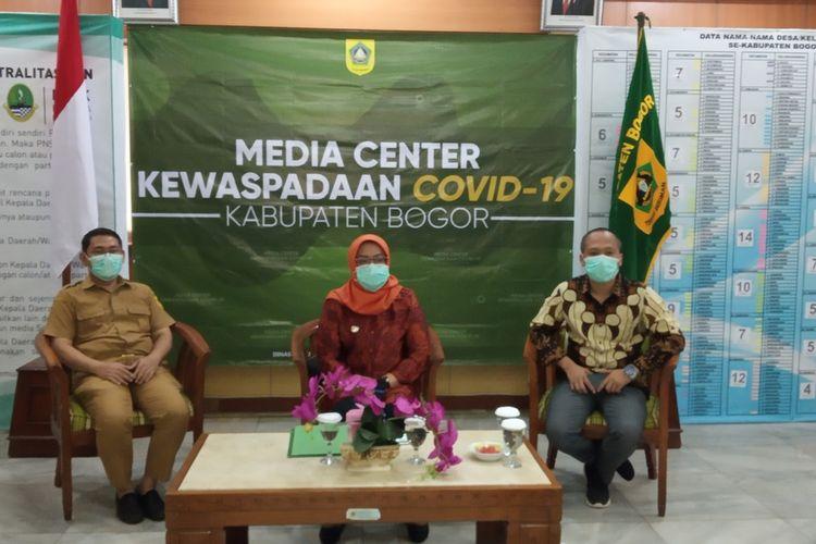 Bupati Bogor Ade Yasin saat ditemui di Cibinong, Kabupaten Bogor, Jawa Barat, Senin (23/3/2020)