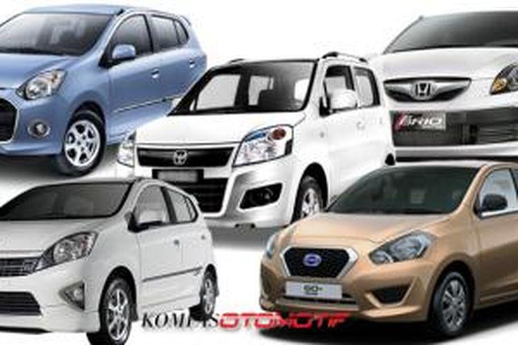 Ini Daftar Mobil Murah Terlaris Di Indonesia 2015 Halaman All Kompas Com