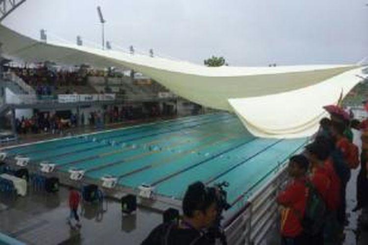 Atap stadion renang runtuh di Malaysia