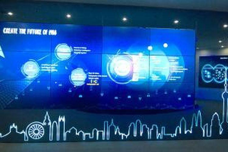 SIMULASI DIGITAL - Untuk membangun masyarakat digital, Huawei mengidentifikasi kebiasaan masyarakat dalam menggunakan perangkat digital yang sudah tersambungkan ke internet. Kemudian dibuat simulasi dalam berbagai aspek yang kelak menyatu dengan kehidupan sehari-hari warga masyarakat.