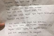 Kisah Pencuri Kirim Surat dan Kembalikan Barang Curian Lewat Ojek Online, Mengaku Terjerat Pinjol