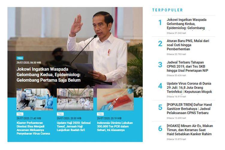 Menurut epidemiolog, gelombang pertama virus corona di Indonesia belum selesai. Pemerintah diminta fokus penanganan Covid-19 saat ini sebelum berbicara soal gelombang kedua.