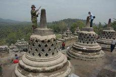 Rabu, Pembersihan Candi Borobudur Ditargetkan Rampung