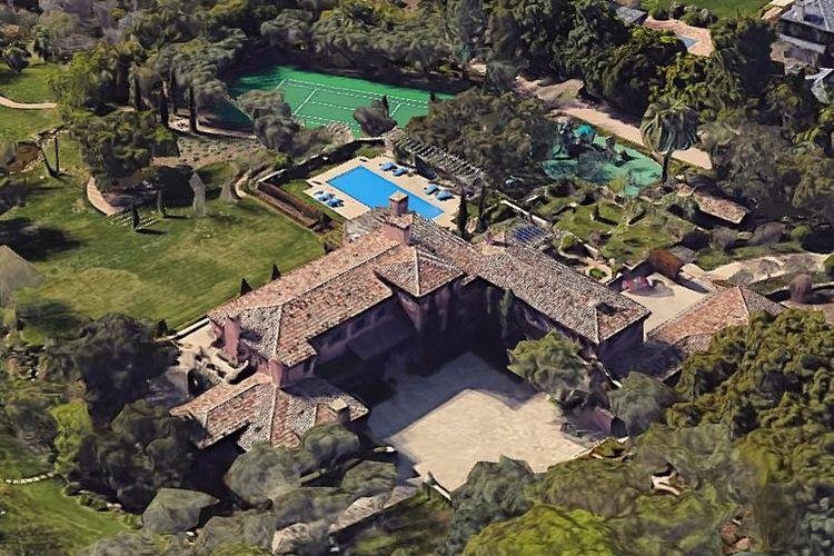 Rumah baru Pangeran Harry dan Meghan Markle di Santa Barbara, California, Amerika Serikat.