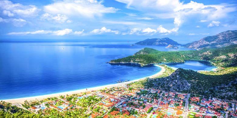 Pantai Oludeniz, Turki