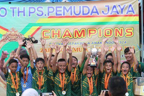 SSB Toyo Haryono Juara Zapello Pemuda Jaya Cup I-2019