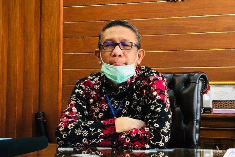 Gubernur Kalbar Sutarmidji saat ditemui di ruang kerjanya.