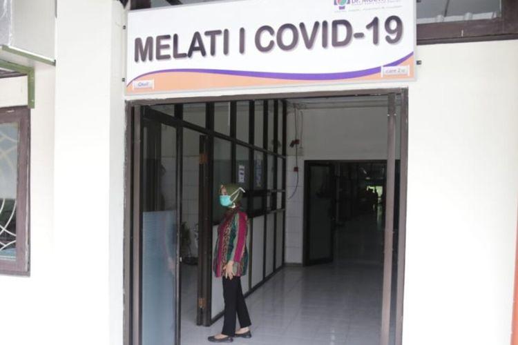 Ruang melati I RSUD Dr Moewardi Solo disiapkan sebagai ruang perawatan pasien coronavirus disease (Covid-19).