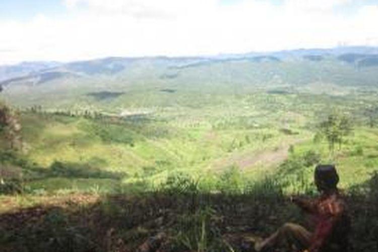 Pemandangan menuju Kecamatan Blangjerango, Kabupaten Gayo Lues, salah satu panorama yang didapatkan dalam jalur wisata pendakian di kawasan Kedah.