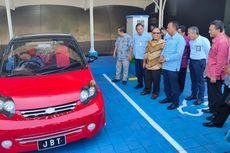 Mobil Listrik Bisa Cas Baterai di Tol Bali Mandara