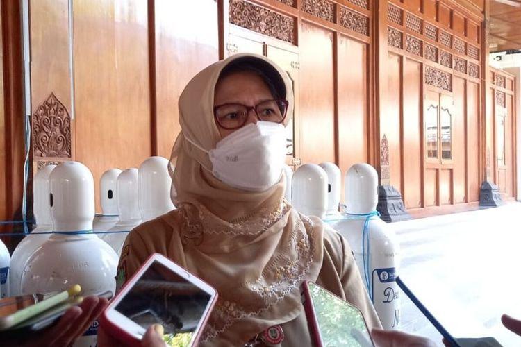 Kepala Dinas Kesehatan Solo, Siti Wahyuningsih.