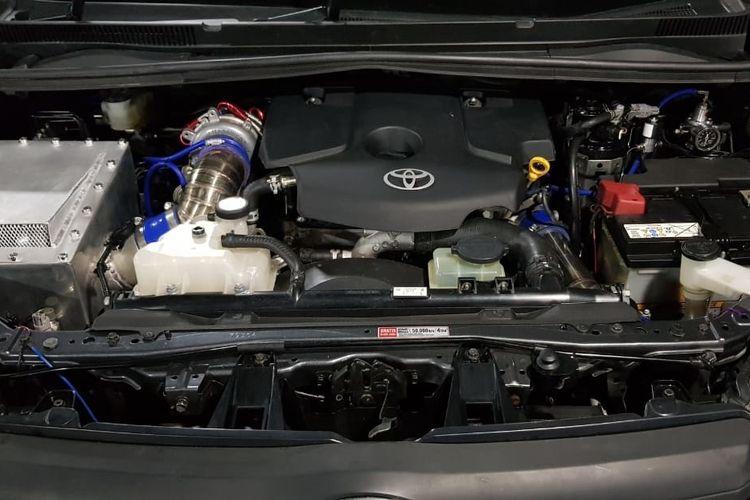 Ilustrasi mesin Toyota Kijang Innova ala Innova Community Racing Team (ICRT)