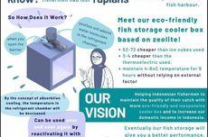Mahasiswa UI Rancang Fishrage, Pendingin Ikan Tanpa Listrik dan Es untuk Nelayan