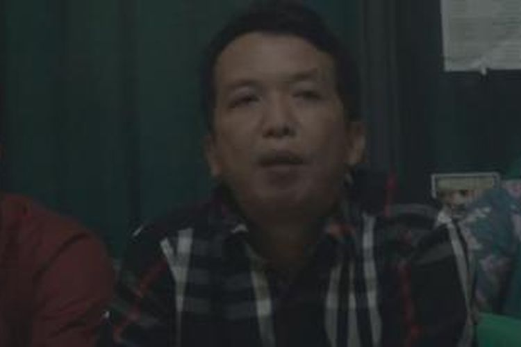 Komsioner KPU Ogan Ilir, Sumatera Selatan, Amrah Muslimin