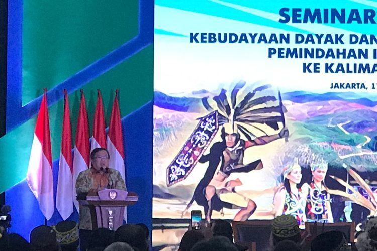 Menteri Perencanaan Pembangunan Nasional (PPN)/ Kepala Bappenas Bambang Brodjonegoro di Jakarta, Kamis (17/10/2019).