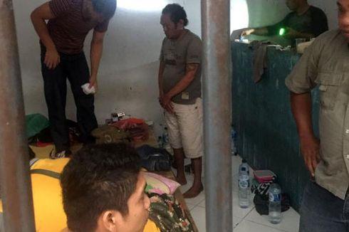Razia, Polisi Temukan 2 Paket Sabu di Rutan Mapolres
