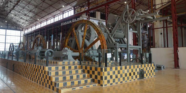 Pabrik Gula Colomadu di Karanganyar, Jawa Tengah, Kamis (22/3/2018) yang telah direvitalisasi menjadi tempat wisata dan kawasan komersial. Kini namanya berubah menjadi De Tjolomadoe.