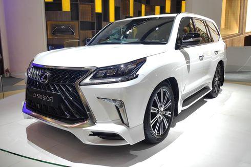 SUV Mewah Lexus Laku Puluhan Unit di  GIIAS 2019