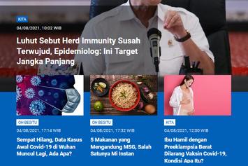 [POPULER SAINS] Herd Immunity adalah Target Jangka Panjang   5 Makanan yang Mengandung MSG