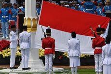 Ini Formasi Tim Putih, Bertugas Menurunkan Bendera Pusaka di Istana