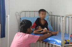 Sarlan, Bocah Penderita Gizi Buruk, Terima Donasi dari Pembaca Kompas.com