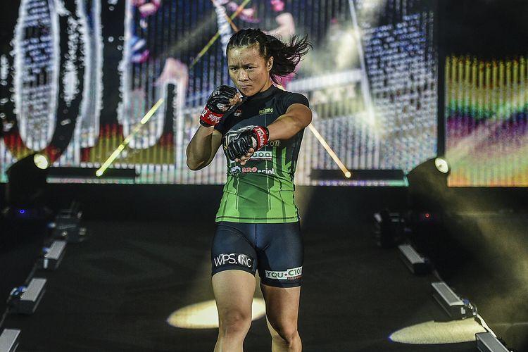 Petarung ONE Championship asal Indonesia, Priscilla Hertati.