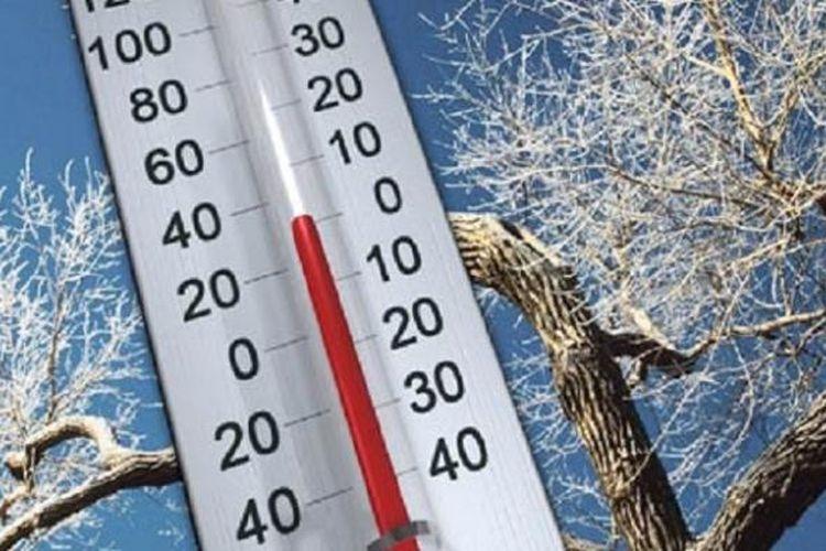 Ilustrasi suhu dingin