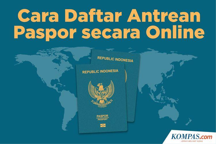 Cara Daftar Antrean Paspor secara Online
