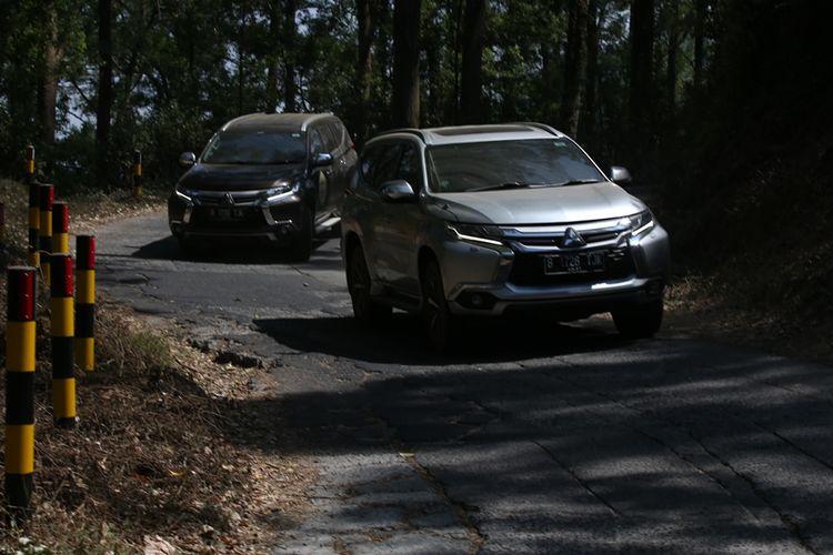 Mitsubishi Pajero Sport temani perjalanan tim ekspedisi Jejak Pendaki Semeru