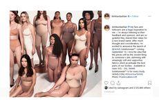 Akhirnya, Kim Kardashian Ganti Nama Kimono pada Produk Underwear-nya