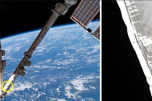 Tak Terhindarkan, ISS Ditabrak Puing Sampah Luar Angkasa