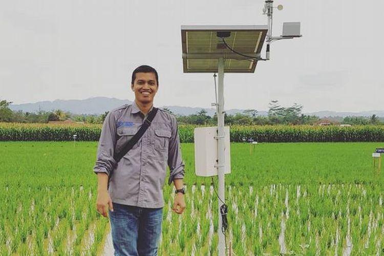 Bayu Dwi Apri Nugroho, pendiri startup MSMB yang rancang aplikasi untuk menolong petani.