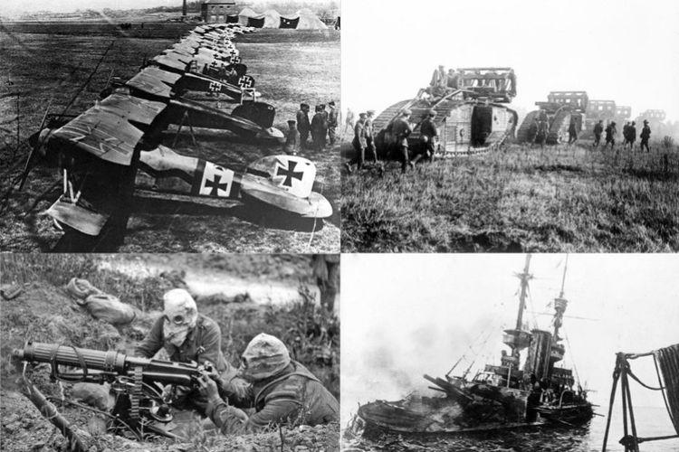 Perang Dunia I (1914-1918).