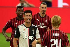 Ronaldo pada Laga AC Milan Vs Juventus, dari Pahlawan Menjadi Pesakitan