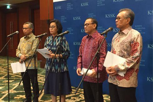 Jaga Stabilitas Sistem Keuangan, KSSK Optimalkan Bauran Kebijakan