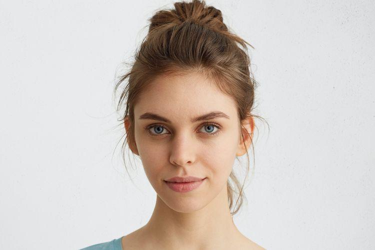 Ilustrasi bibir kering