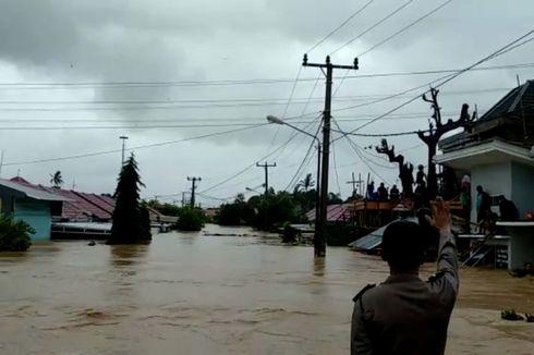 Banjir Landa Gowa, 2.121 Warga Mengungsi, Satu Anak Balita Tewas