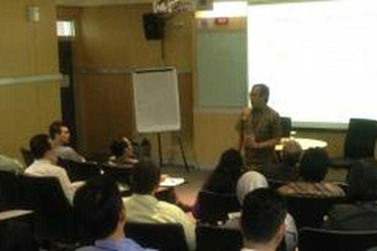 Executive Dean Binus Business School, Ir Firdaus Alamsjah, pada