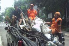 Sepekan Ditemukan, Belum Ada Kejelasan Pemilik Kulit Kabel di Gorong-gorong