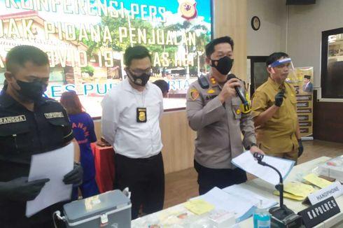 Kronologi Empat Penjual Obat Terapi Covid-19 Ditangkap Polisi, akibat Patok Harga Tinggi dari Pasaran