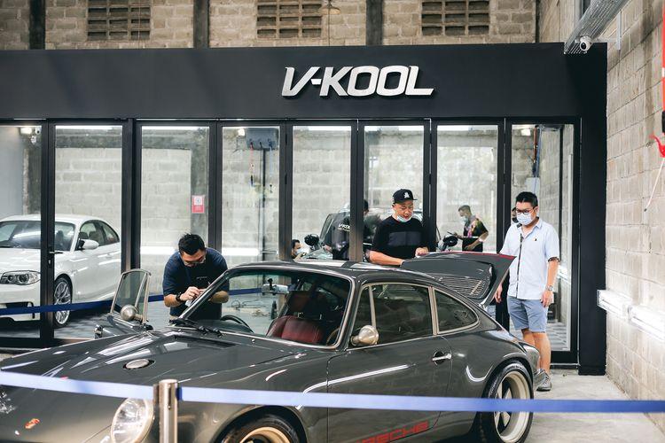 V-Kool Indonesia yang meresmikan diler terbarunya Prestige Auto Detailer (PAD) Alam Sutera Tangerang, Minggu (6/6/2021).