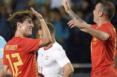 Hasil Laga Uji Coba, Swiss Tahan Imbang Spanyol