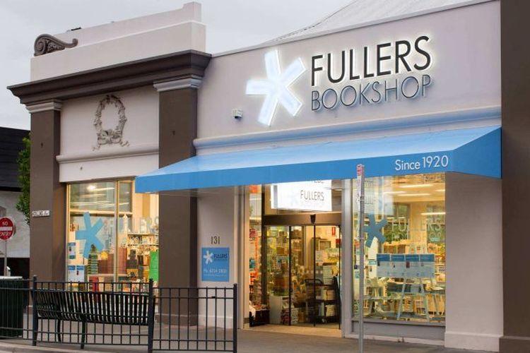 Salah satu toko buku Fullers yang ada di Pulau Tasmania, Australia.