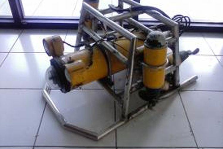 RJBA 45, robot bawah air pemantau terumbu karang.
