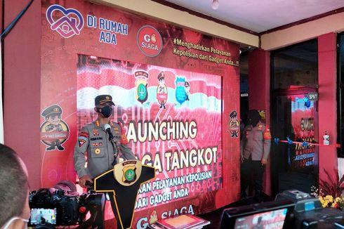 Polsek Tangerang Luncurkan Aplikasi Go agar Warga Mudah Dapat Layanan Polisi