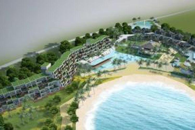Total investasi proyek resor Treasure Bay Bintan mencapai lebih dari 3,5 miliar dollar AS dalam 10-12 tahun mendatang. Pengembangan tahap pertamanya akan mencakup area seluas 90 hektar.