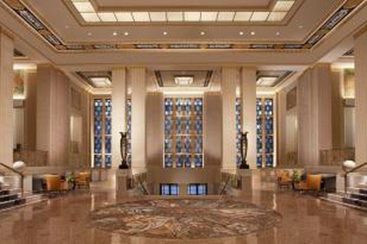 Waldorf Astoria, New York, AS, hasil rancangan HOK.