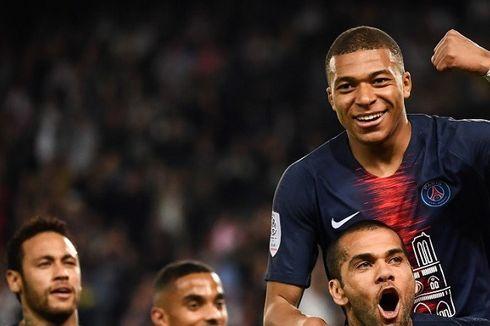 Club Brugge Vs PSG, Hattrick Mbappe Pecahkan Rekor Lionel Messi