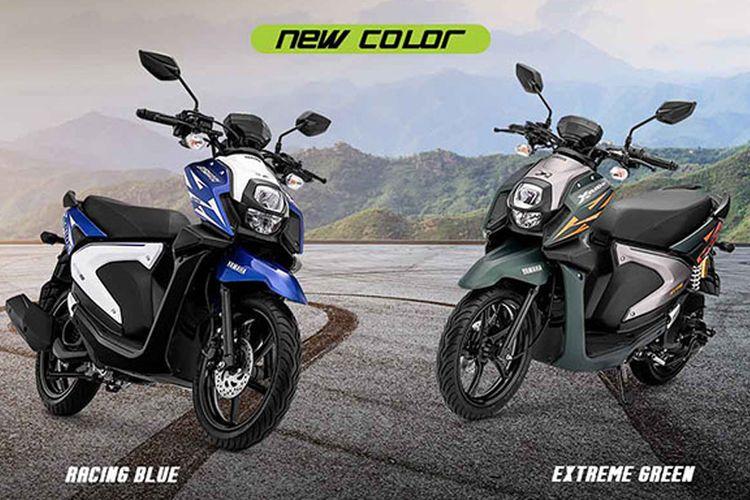 Yamaha X-ride hadir dengan warna baru