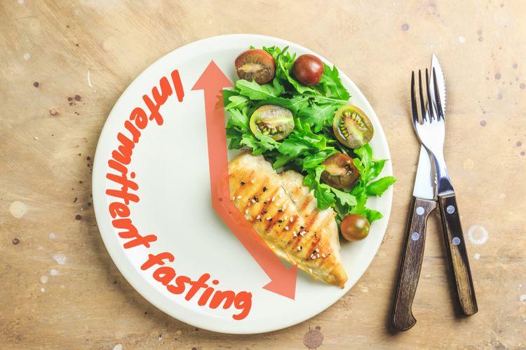 Ilustrasi intermittent fasting